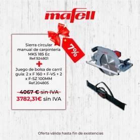 Promoción Mafell MKS 185 Ec & Juego de bolsa de carril guía - 1