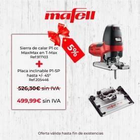 Promoción Mafell P1cc MaxiMax en T-Max & Placa inclinable P1-SP - 1