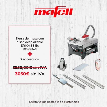 Sierra de mesa con disco desplazable ERIKA 85 Ec Mafell - Promoción verano 2019 - 1