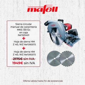 Sierra circular manual MKS 130 Ec en caja - Promoción verano 2019 - 1
