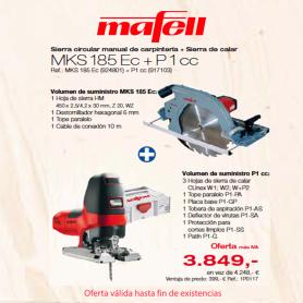 MKS 185 Ec + P 1 cc - Promoción verano 2019