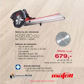 Sistema de retestado KSS 60 cc Mafell - PROMOCIÓN OTOÑO 2019 - 1