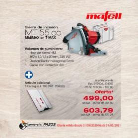 Sierra de incisión MT 55 cc MidiMAX en T-MAX en F 160 - 1P0002
