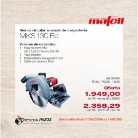 Promoción Sierra circular manual de carpintería MKS 130 Ec Mafell - 1P0229