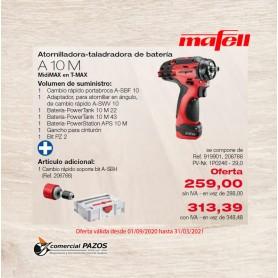 Promoción Atornilladora-taladradora de batería A 10 M MidiMAX en T-MAX Mafell - 1P0246