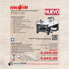 Sierra de mesa con disco desplazable ERIKA 85 Mafell - 1P0177 - 1