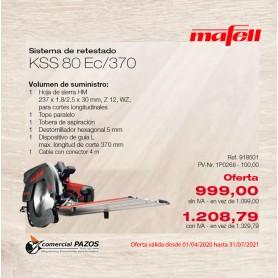 Sistema de retestado KSS 80 Ec / 370 Mafell - Promoción 1P0268