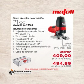 copy of Sierra de calar P 1 cc MaxiMAX en T-MAX - 1P0297 - Promoción Mafell