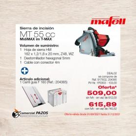 Sierra de incisión MT 55 cc en MidiMAX - 1P0303 - Promoción Mafell