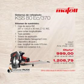 Sistema de retestado KSS 80 Ec / 370 - 1P0268 - Promoción Mafell