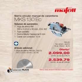 Sierra circular manual de carpintería MKS 130 Ec - 1P0316 - Promoción Mafell