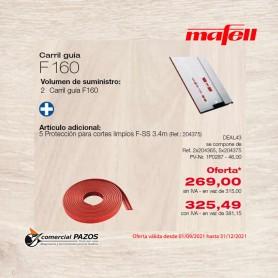 Carril guía F 160 longitud 1,6 m - 1P0287 - Promoción Mafell
