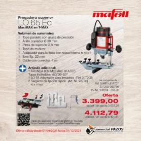Fresadora superior LO 65 Ec MaxiMAX - 1P0284 - Promoción Mafell