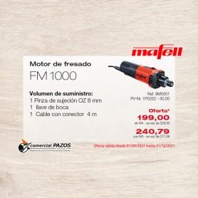 Motor de fresado FM 1000 - 1P0252 - Promoción Mafell
