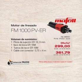 Motor de fresado FM 1000 PV-ER - 1P0253 - Promoción Mafell